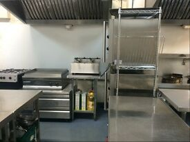 CITY OF LONDON, TOWER GATEWAY STATION COMMERCIAL KITCHEN TO RENT WITH OWN LARGE PRIVATE PARKING