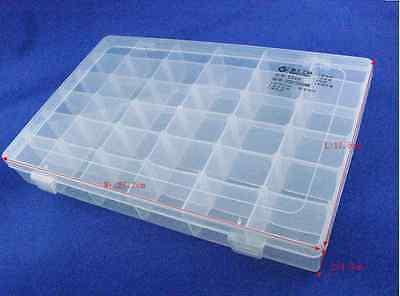 1pclotelectronic Components Storage Box 36 Latticeblocks 27x17x4 Cm