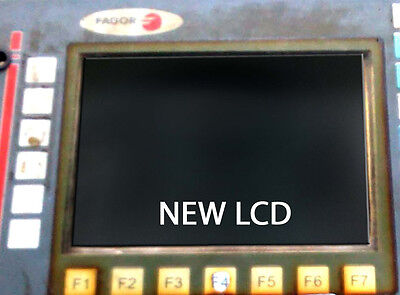 LCD monitor upgrade for 14-inch Fagor 8035 with Cable Kit for sale  Shipping to India