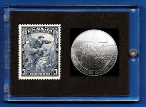Jacques-Cartier-1534-1934-Canada-Commemorative-Stamp-Coin-Set