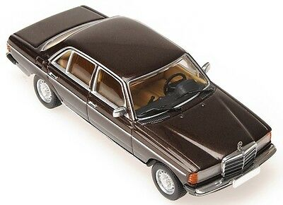 Minichamps 1976 MERCEDES E-CLASS 280E BROWN (W123) 1:43*New* for sale  Shipping to India