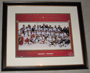 Framed Team Canada Picture (2002)