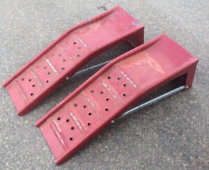 Set Of Car Ramps Steel Good For 6000 Lbs. $30.00