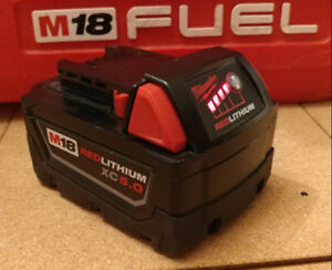 Milwaukee 5.0 Ah battery & New M18 M12 Multi Charger