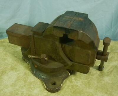 Old Bench Vise 4 12 Jaws Unknown Maker 19j092