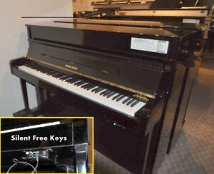 Piano Young Chang Y114 avec le le Système  Silent Free Keys