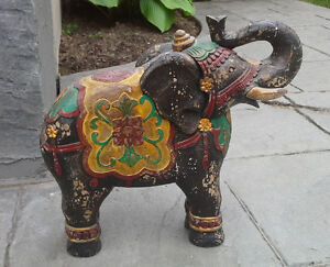 Antique Elephant Statue For Sale