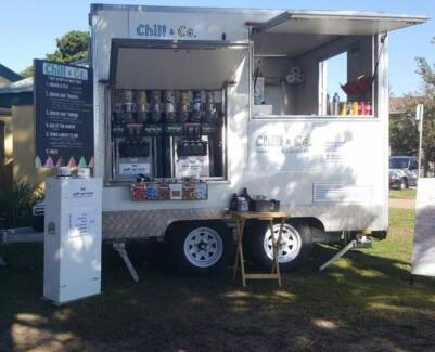 Mobile market and festival food trailer business for sale