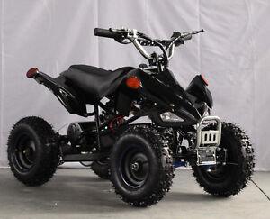 NEW POWERFUL 1000W BLACK ATV KIDS ELECTRIC QUAD ON SALE 599.95 !
