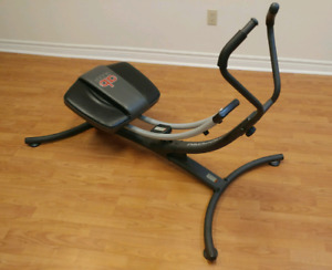 Abdominal exercise equipment set:  AB Glider and AB Rocket