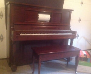 Upright Electric Player Piano