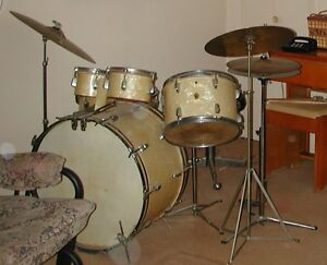 Ensemble percussion Vintage Ludwig WFL – 1948-1952