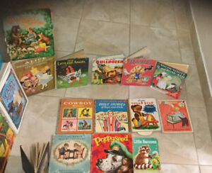 Wide assortment of vintage children's and young adult books