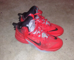 MENS SIZE 11 NIKE ZOOM HYPERFUSE SHOES FOR SALE!