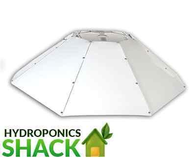 Omega Horizontal Parabolic Light Shade Reflector Hydroponics Grow Room Tent 1Mtr