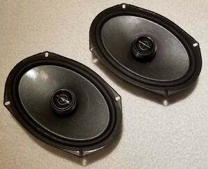 Pair of 6x9 inch Alpine Type-R 2-Way Coaxial Speakers