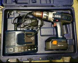 AEG drill 18V