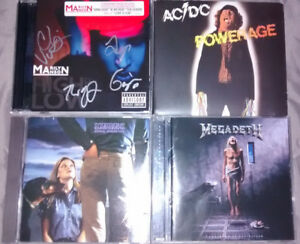 CD'S, VINYL, AUTOGRAPHS & TOUR PROGRAMS