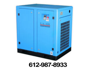 50 Hp Variable Speed Screw Compressor, 575V New