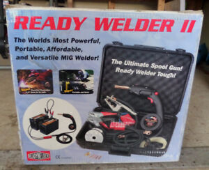 Battery Operated Wire Feed Welder
