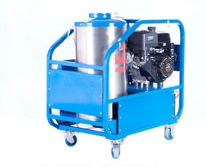 Hot Water Gas Engine Pressure Washer