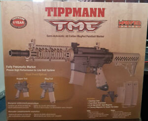 Tippmann TMC 6 Mags, Tiberius T15 4 Mags, PTXtreme, Accessories!