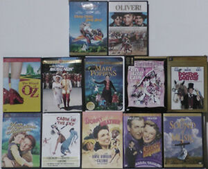 Classic modern musicals DVD collection.