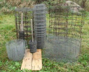 Farm fence (Approximately 200 pounds total)