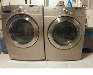 LG Tromm Front loader and matching Dryer