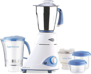 Preethi Blue Leaf Platinum Blender/Processor/Juicer