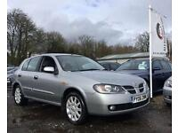 2006 06 NISSAN ALMERA 1.5 SE 5D 96 BHP 2LADY OWNERS FULL HISTORY