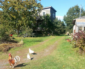 Farmhouse in Valleyfield near Montague Jan to April 2018