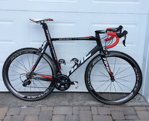 Time RXRS ulteam black, 57cm ultegra 11 speed with dura-ace c50