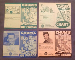CHUM HIT PARADE CHARTS WANTED Kingston Kingston Area image 3