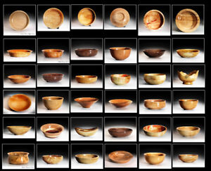 Professionally Turned Wooden Bowls.
