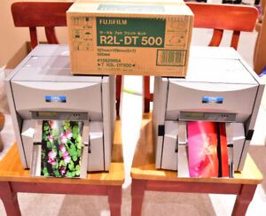 Two Copal Fujifilm Photo Dye Sublimation Printers ASK 1500