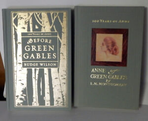 Ann of Green Gable + Before Green Gables, Hardcovers