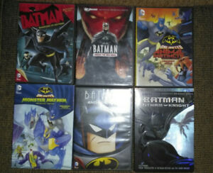 Batman animated DVD lot.