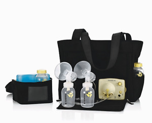 Medela Pump in Style Breastpump Slouch bag- with accessories