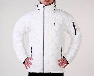 Manteau Peak Performance modèle Osaka Blanc Small