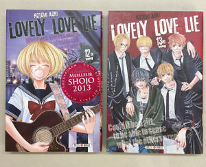 MANGA: Lovely Love Lie, Volume 12,13 & 14 (Kotomi Aoki)