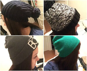 Hats and scarves for sale