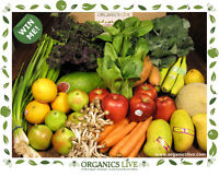 100% Certified Organic Fruits and Vegetables We deliver 100% Cer