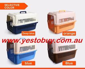 Airline approved pet dog cat puppy carrier travel cage crate Mordialloc Kingston Area Preview