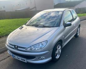Peugeot, 206, Hatchback, 2005, Manual, 1.6 Petrol 12 M MOT £795