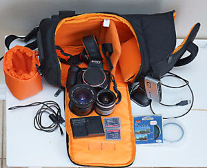 Sony A350 and lots of accessories!