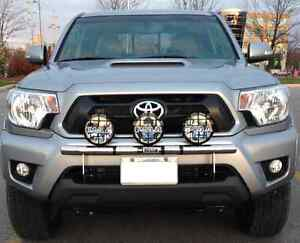 Westin Light Bar and PIAA Lamps for a 2012 to 2015 Tacoma