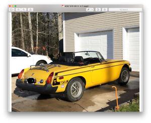 1978 MGB  For Sale, $9,800.00    OBO