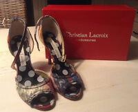 CHRISTIAN LACROIX HIGH HEELS SIZE 39
