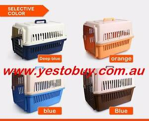 Airline approved pet dog cat puppy carrier travel cage crate Oakleigh Monash Area Preview